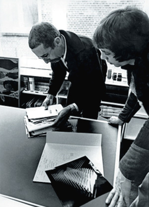 1977, atelier Alblasserdam