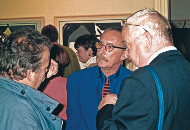 1992, opening of the exhibition at Pulchri Studio, The Hague