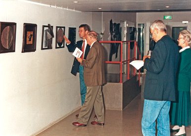 1994, opening of the NOCR exhibition