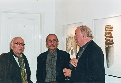 1999, opening of the exhibition at gallery Art Selection, Rotterdam