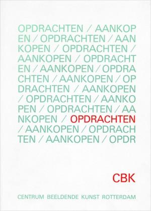1983 | Opdrachten, Centrum Beeldende Kunst Rotterdam