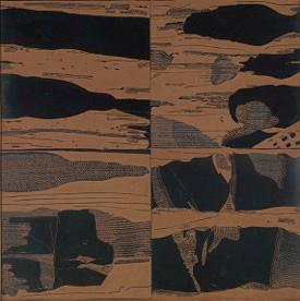1967, linoreliëf, 100 x 100 cm